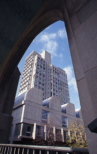 Boston University - Sert's buildings expanded the campus in the 1960s