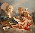 Boucher - Cupids. Allegory of Painting, 1760s.jpg