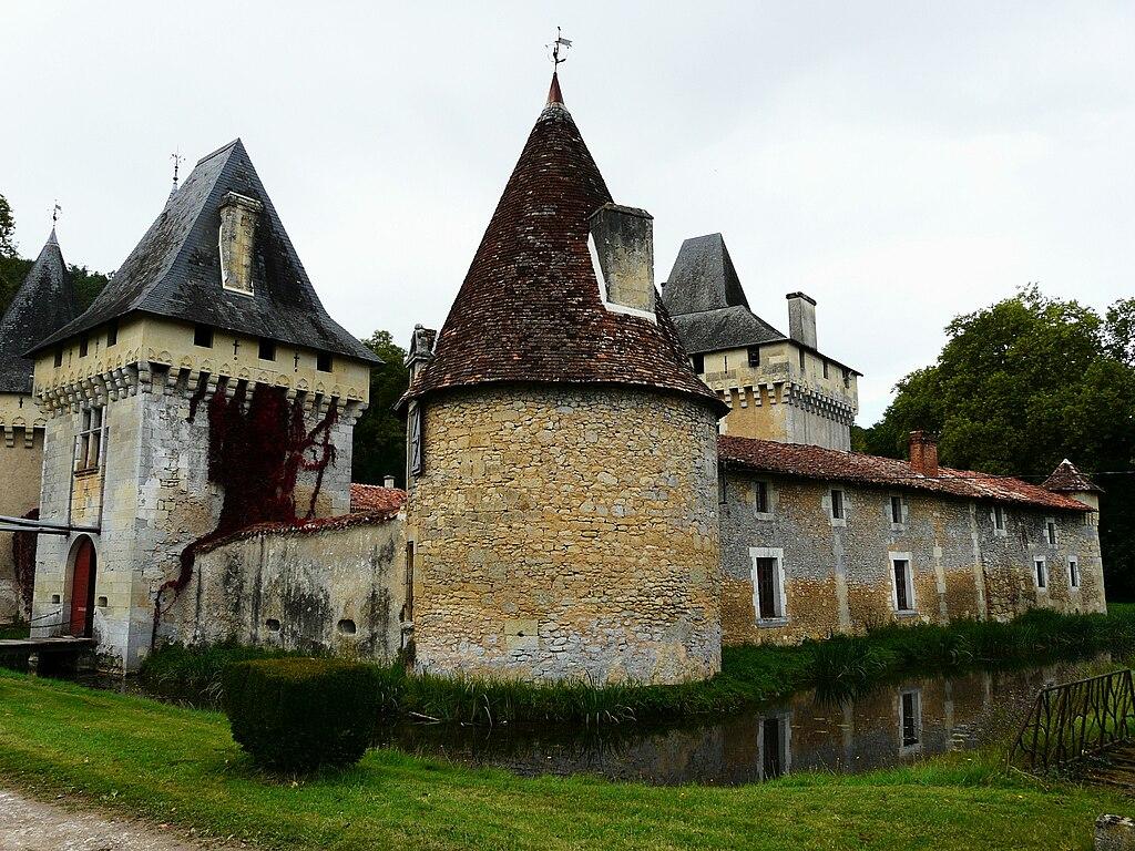 Boulazac France  city photo : ... et la tour est, château du Lieu Dieu, Boulazac, Dordogne, France