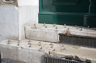 Hostile architecture public-space design to discourage crime or unintended uses