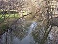 Bouzanne - Le Pont-Chrétien-Chabenet (36) - Vue vers son confluent.jpg