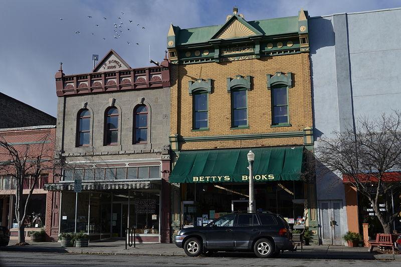 File:Bowen and Bamberger Buildings (Baker City, Oregon).jpg