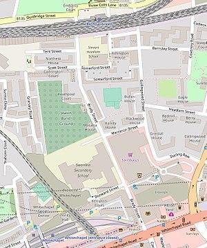 Brady Street - Modern map of Brady Street