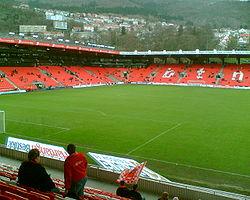 Brann Stadion, the stadium where SK Brann plays their home matches