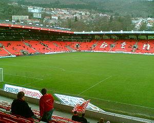 Brann Stadion - Inside Brann Stadion after the expansion