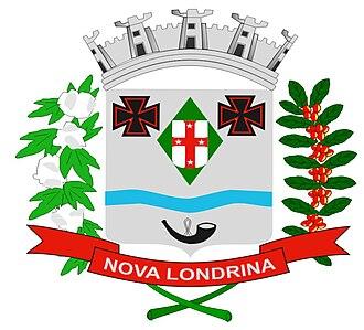 Nova Londrina - Image: Brasão de Nova Londrina