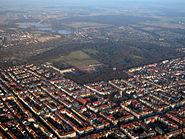 Braunschweig Luftaufnahme Oestliches Ringgebiet (2011)