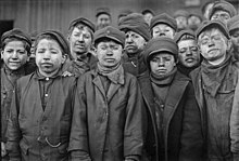 Breaker boys. Smallest is Angelo Ross. Hughestown Borough Coal Co. Pittston, Pa. - NARA - 523384.jpg