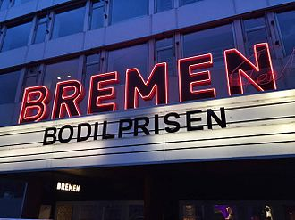 Bremen Teater (Copenhagen) - Image: Bremen Teater marquee