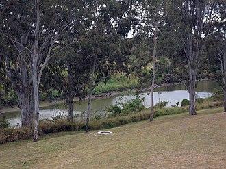 Basin Pocket, Queensland - Bremer River and park, 2015