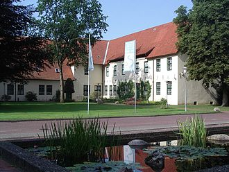 Bremervörde - Vorwerk of the former Castle: The Chancery, now housing the Bachmann-Museum for regional archeology, geology and history.