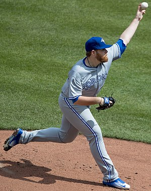 Brett Anderson (baseball) - Anderson with the Toronto Blue Jays in 2017