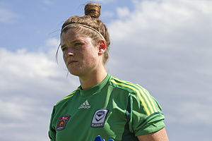 Brianna Davey - Davey with Melbourne Victory in 2012