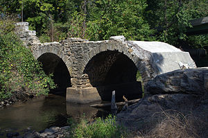 Bridge at Falling Creek - Bridge at Falling Creek, September 2012