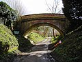 Bridge over bridleway, Southcott, Wiltshire - geograph.org.uk - 356973.jpg