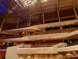 Bridgewater Hall - Interior