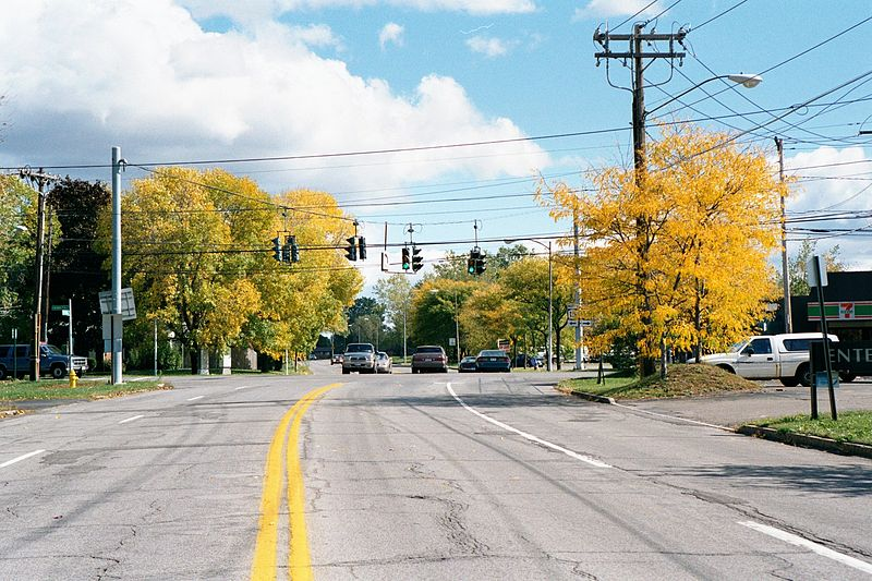 File:Brighton Monroe County NY Crittenden Road Intersection West Henrietta Road 2001.jpg