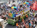 Brighton Pride 2014 bus (15045503485).jpg
