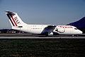 British Air Ferries BAe 146-200; G-BTIA, March 1992 (5424547918).jpg