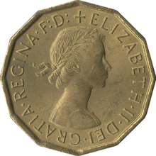 British threepence 1967 obverse.png