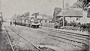 Broad Green railway station - Image: Broad Green railway station