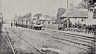 Broad Green railway station - Image: Broad Green railway station