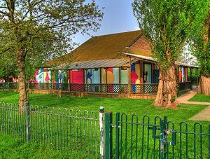 Brockwell Park - Image: Brockwell Park Hut