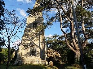 Broughton, Cambridgeshire - Broughton parish church tower