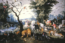 Brueghel, Jan, the younger - The animals entering Noah`s Ark - Google Art Project.jpg