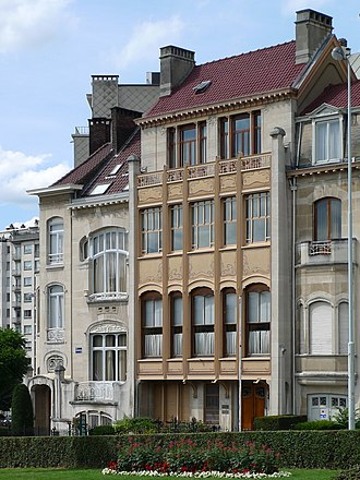 Major town houses of the architect Victor Horta (Brussels) - Image: Brussels Hotel Hôtel van Eetvelde (3774889251)
