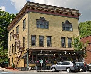 Odd Fellows' Hall (Buckland, Massachusetts) - Image: Buckland MA Oddfellows Hall