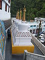Buddhist Temple Darjeeling West Bengal India.JPG