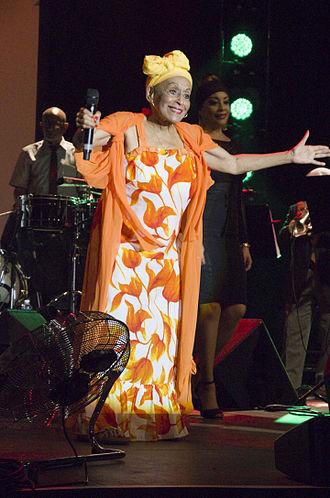 Omara Portuondo - Omara Portuondo in 2015.