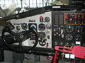 Buffalo Airways Canadair CL-215 cockpit left seat.jpg