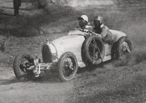 1930 Australian Grand Prix - Bill Thompson won the race driving a Bugatti Type 37A