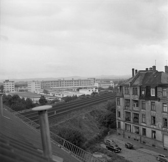 Braun (company) - Image: Bundesarchiv B 145 Bild F008589 0008, Frankfurt Main, Stadtteil Bornheim
