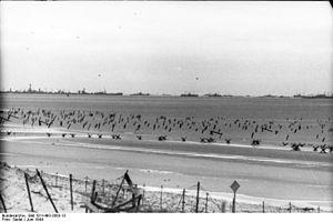 Sword Beach - An example of German beach defences
