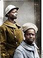 Bundesarchiv Bild 146-2005-0169, Im Westen, farbige Kriegsgefangene aus Guinea (Afrika) Recolored.jpg