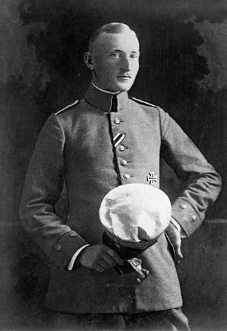 Schönau im Schwarzwald - Albert Leo Schlageter in 1918