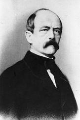 Otto von Bismarck, around 1860