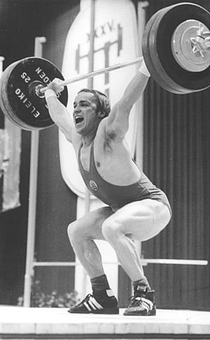 Peter Wenzel (weightlifter) - Peter Wenzel in 1979