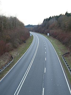Bundesstraße 1 - Image: Bundesstraße 1