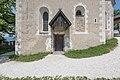 Burg Hochosterwitz Burgkapelle Sued-Wand mit Portal 01062015 4386.jpg