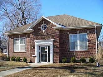 Cottonwood Falls, Kansas - Image: Burnley Memorial Library