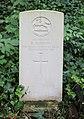 Burrow (Reginald) CWGC gravestone, Flaybrick Memorial Gardens.jpg