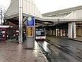 """Bus der Duisburger Verkehrsgesellschaft an der Haltestelle """"Duisburg Hauptbahnhof"""".jpg"""