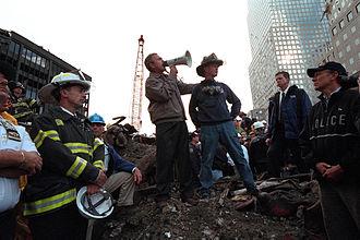 U-S-A! - Image: Bush Ground Zero