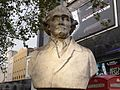 Bust of Hunter - Leicester Square Gardens, London (4039207961).jpg