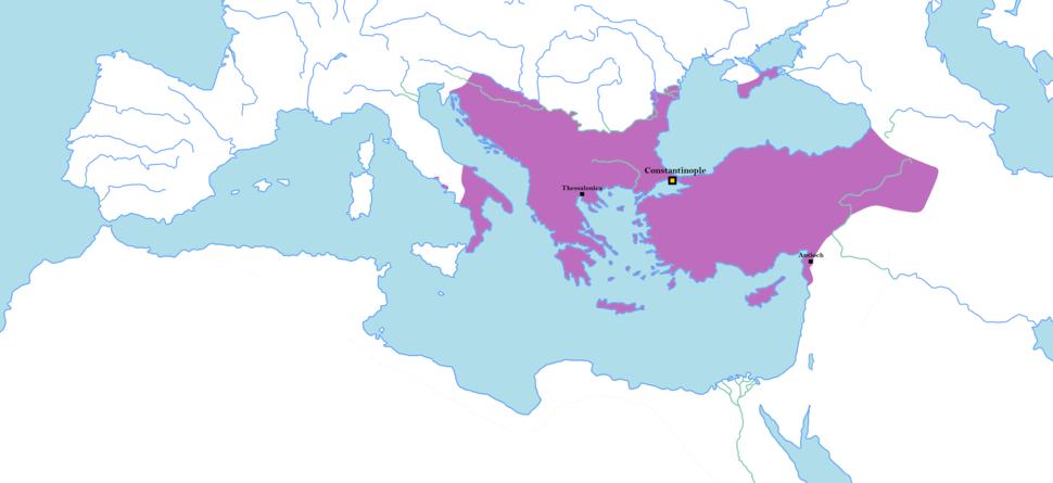 Byzantine Empire 1025 AD