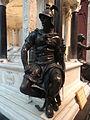 Cénotaphe du Général de Lamoricière 05 - face sud - Forçe guerriere.JPG
